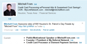 Mitchell From's LinkedIn Profile Image